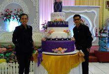 Wedding Cake by The Purple Wedding Cake