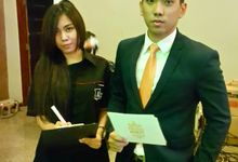 Wedding Reception at Graha Panglima Kediri by Aldo Adela MC & Magician