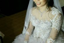 WEDDING MAKEUP AND HAIRDO by siska make up artist