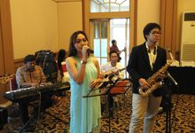 Alif and Rani Wedding by Monica Music Entertainment