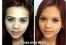 eyebrow embroidery sulam alis by Xin-Ai Bride