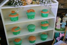 Orange&MintGreen - Rustic by Miracles Cakes