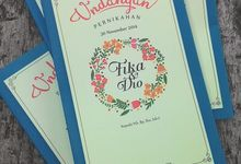 fika & dio by Agsha Invitations