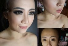 Wedding makeup by AngelineThresdy Makeup Artist