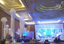 Pullman underwater theme decoration by Lily Florist & Decoration