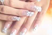 Wedding Nails by Ten Tips Nail Studio