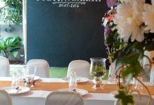 Wedding Dinner & Tea Ceremony by Secret Garden Lifestyle S/B