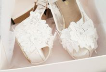 wedding shoes by LACIES