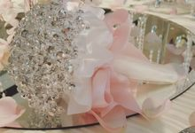 Singapore Marriott Tang Plaza Wedding Showcase October 2016 by Blackaccessories - specialises in Crystal Bouquet