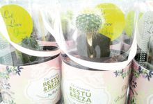 Beautiful Green Souvenir Restu & Reza by Jolie Belle
