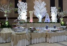 Wedding of Adela And Ian by PUSPA CATERING