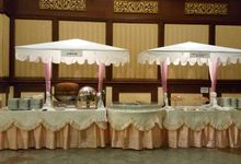 Wedding of Rani & Taufan by PUSPA CATERING