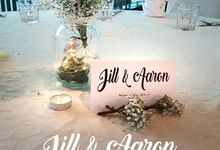 Jill & Aaron Wedding by Floral Story Int