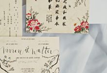 Orientalist | Walter & Vivien by dora prints and paper goods
