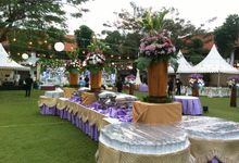 Wedding Of  Ferryandi & Graticia by PUSPA CATERING