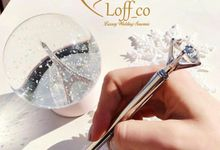 Crystal / Diamond Pen & Card Holder Stainless by Loff_co souvenir