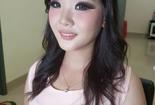 Makeup for Ms Suraini by The Bridea