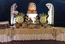 Wedding Of Indah & Gamal by PUSPA CATERING