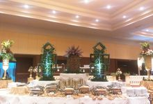 THE WEDDING OF SABRINA & PANDU by PUSPA CATERING