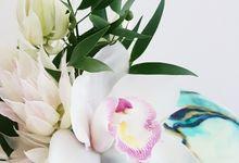 Marble Botanicals by Sophessa Cakes