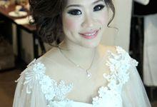 #Makeupstory of Astri by Linda Make Up Studio