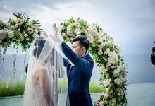 Wedding of Mr and Mrs Yeo at Kamaya Uluwatu Bali by All that Bali Wedding