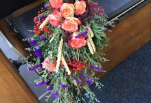 Bridal Bouquet by Nina Nasution
