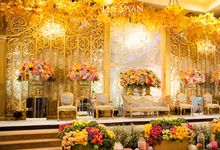 The Wedding of Hari & Novi by The Swan Decoration