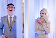 The reception of Ain & Aizat by White Rose Co