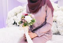 The engagement ceremony of Fauzana & Haqqa by Hanif Fazalul Photography & Cinematography