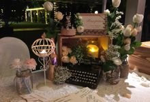 Rustic & Garden Theme wedding at Hotel Fort Canning by Cinderella Dream