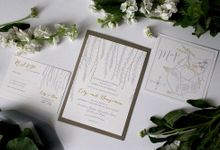 Willow Suite by With Paloma Stationery & Design