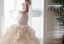 textured gown by elvira brides