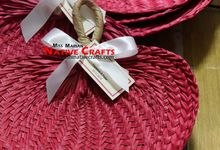 Buri Fans Wedding Favors by Miss Marian Native Crafts
