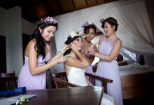 Super Couple Angie & Leon by Bali Wedding Vows