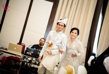 Khairil & Nina Wedding Reception by The Glamorous Capture