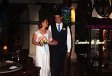 Casandra & David Wedding Reception at KORI Restaurant & Bar by KORI Catering