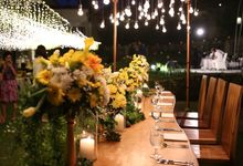 Yusup and Sutriana Wedding Reception Dinner by Kamandalu Ubud