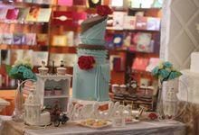 JAKARTA WEDDING FESTIVAL 2015 by RR CAKES