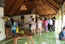 Jace and Amber Wedding at Plataran Canggu Resort and Spa by Plataran Indonesia