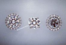 Diamond Earrings by Kapasan Gold