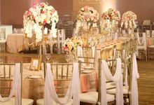 Gleaming Gold Wedding by Precious Event Design