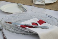 Wedding & Dinner Tommy and Syen by The Royal Santrian Luxury Beach Villa
