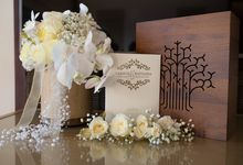 Wedding of  Tarsius & Nathania by Apple Blooms Creation