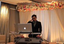Wedding Reception of Satrio & Alliza by DJ Perpi