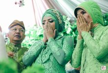 Pengajian, siraman dan midodareni Dimas & Tita by FR Photo