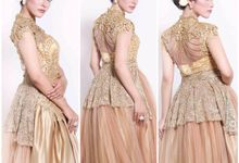 Golden Gown by Stephanie Wedding Bride