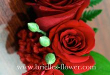 Corsages and Boutonniere by Brielles Flower House