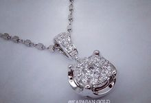 Diamond Pendant by Kapasan Gold