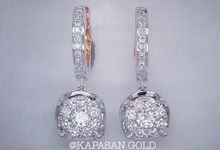 Diamond Earrings by Kapasan Gold